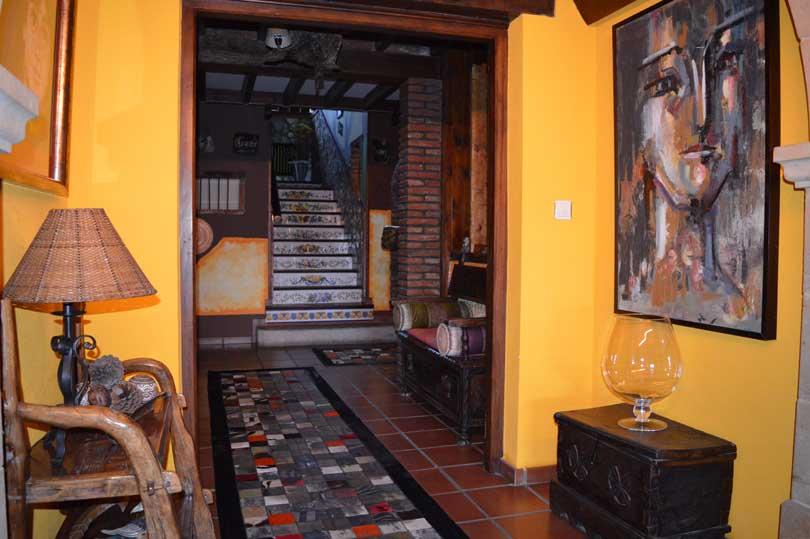 Lobby Posada El Valle