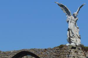 Angel cementerio Comillas